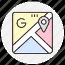 google maps, location, map, navigation