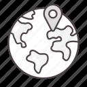 globe, gps, location, navigation, global