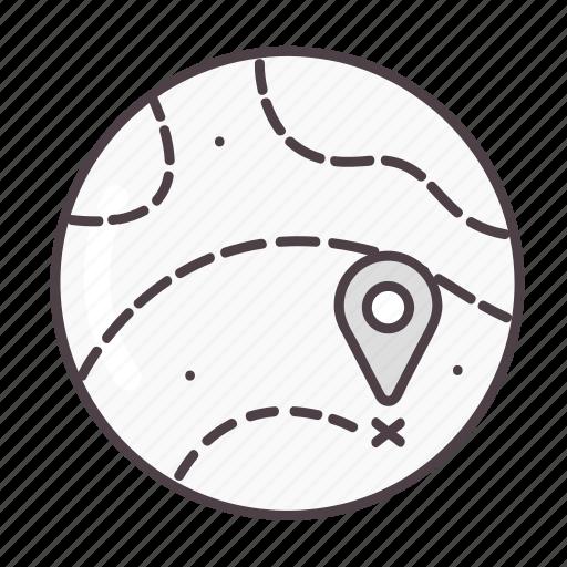 globe, gps, location, map, navigation icon