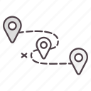 destination, direction, gps, location, navigation