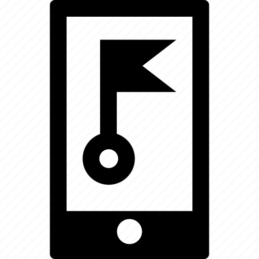 Address, destination, flag, gps, location, map, smartphone icon - Download on Iconfinder