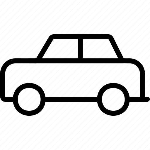 car, driver, road, transportation, travel, vehicle icon