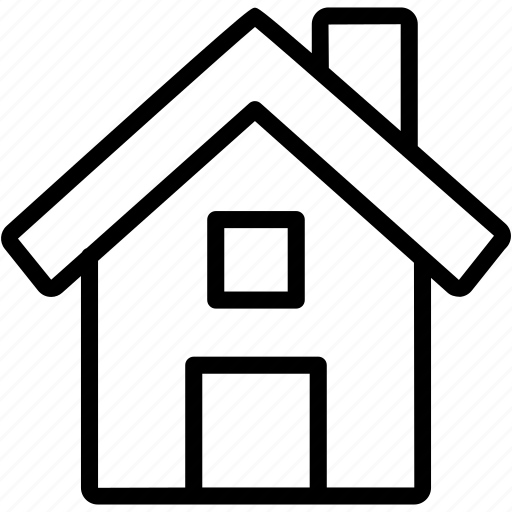 Home, apartment, estate, house, place, property, real icon - Download on Iconfinder