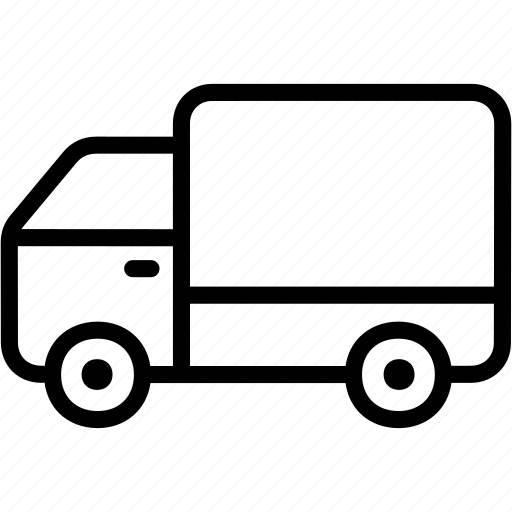 delivery, logistics, shipping, transport, truck, vehicle icon