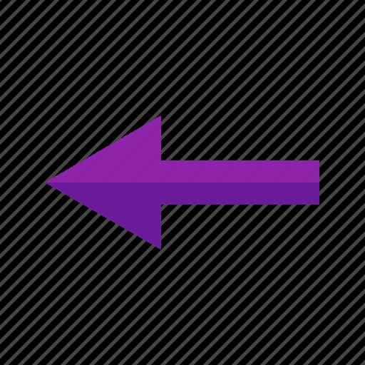 arrow, left, path, road, sign, turn icon