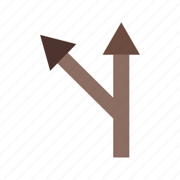 ahead, curve, left, road, sign, traffic, turn icon