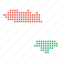 asian, country, kurdish, kurdistan, map, national, region icon