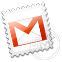 gmail, grey icon