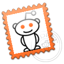 reddit, stamp icon