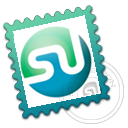 stamp, stumbleupon icon