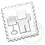 digg, stamp icon