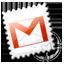 gmail, grey icon