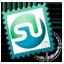 stamp, stumbleupon icon