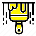 brush, construction, paint icon