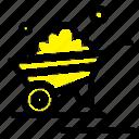 barrow, garden, trolley, truck, wheelbarrow