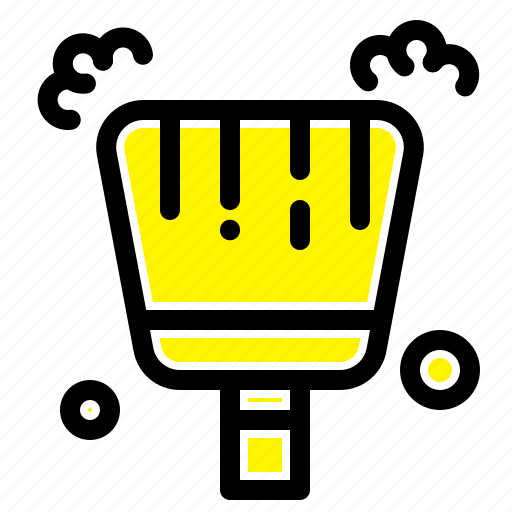 Broom, dustpan, sweep icon - Download on Iconfinder