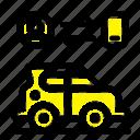 car, man, technology, transport