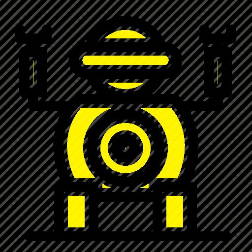 robot, technology, toy icon