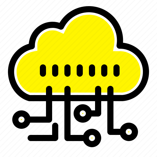 data, manage, technology icon