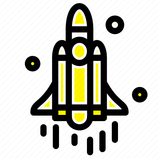 launch, rocket, space, technology icon