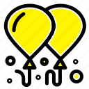 balloon, fly, motivation icon