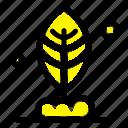 leaf, motivation, plant