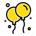 bloon, fly, ireland icon