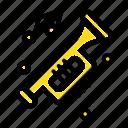 accessories, car, horn, noise, trumpet