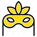 costume, mask, masquerade icon