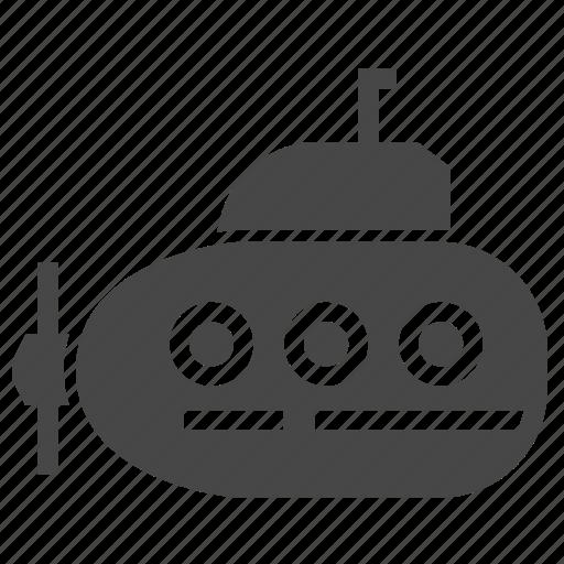 nautical, navigation, submarine, transport icon