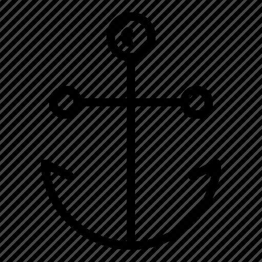 anchor, marine, nautical, ocean, sail, sailor, ship icon