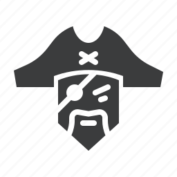 pirate, sea icon