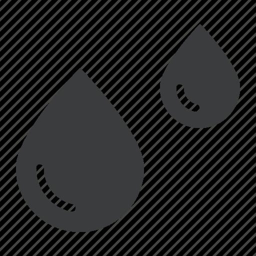 drop, ocean, oil, rain, water icon