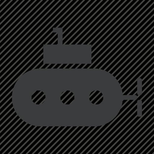 nautical, ocean, sea, submarine, transport, travel, underwater icon