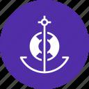 anchor, lifebuoy, nautical, ocean, sail, ship, marine