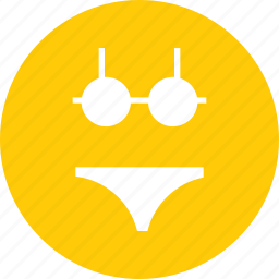 beach, bikini, sea, suit, summer, swim, vacation icon