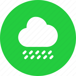 cloud, forecast, rain, raining, rainy, weather icon