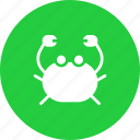crab, food, marine, sea, seafood icon