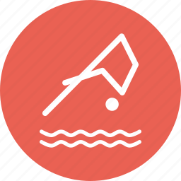 activity, dive, ocean, scuba, sea, swim, water icon