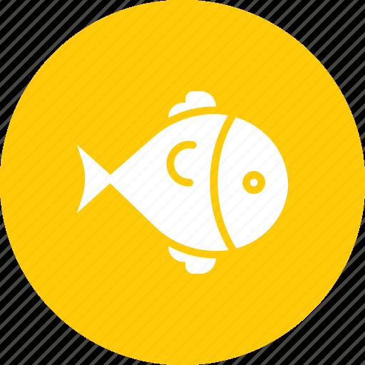 fish, food, marine, sea, swim icon