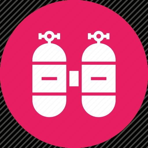 cylinder, dive, nos, ocean, oxygen, scuba, sea icon