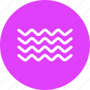 nautical, ocean, sea, tide, water, wave icon