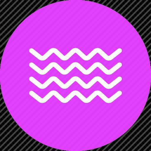 nautical, ocean, sea, tide, water, wave icon