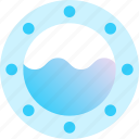 aquatic, marine, naval, sea, window