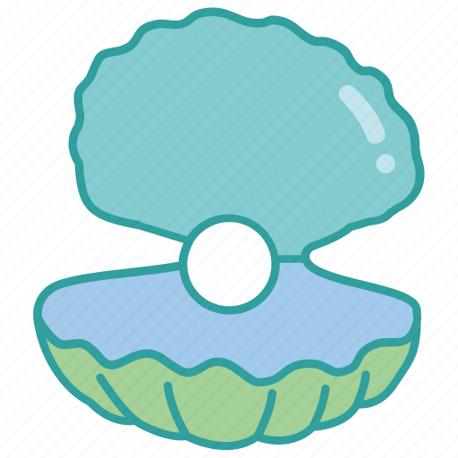 clam, cultured, mussel, natural, oyster, pearl icon