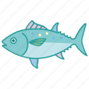 bluefin, canned, fish, fishing, mackerel, ocean, tuna icon