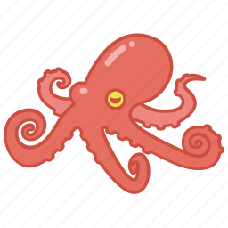 animal, aquarium, marine, octopus, sea icon