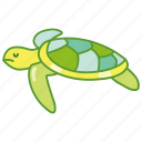 aquatic, life, marine, sea, seaturtle, turtle icon