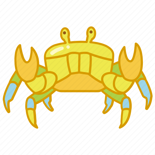 animal, crab, crustacean, marine, sea, seafood icon