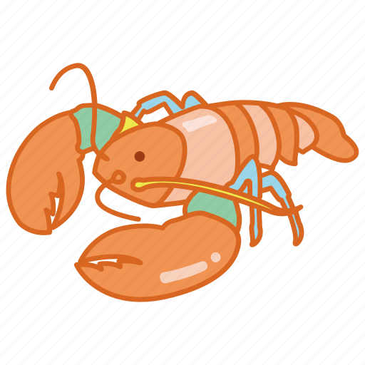 clawed, crustacean, life, lobster, marine, seafood, trap icon